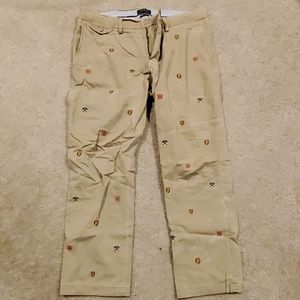 Polo Ralph Lauren All Over Embroidery Pant